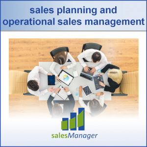 sales planning and operational sales management